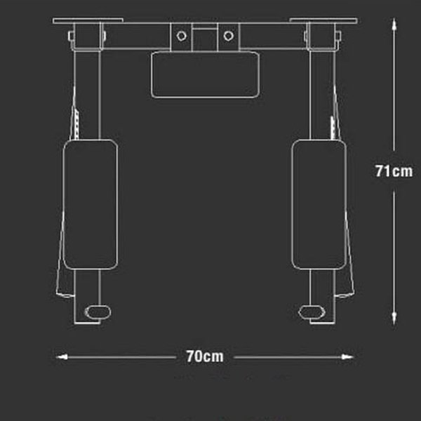 Wall Mounted Gym Parallel Bars